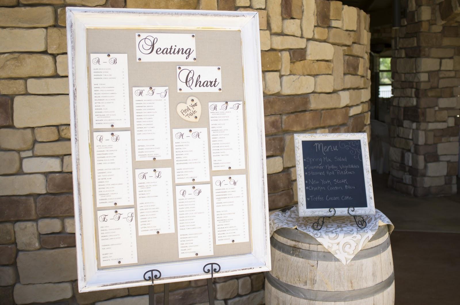 Bride.Paper.Scissors: DIY Wedding Seating Chart
