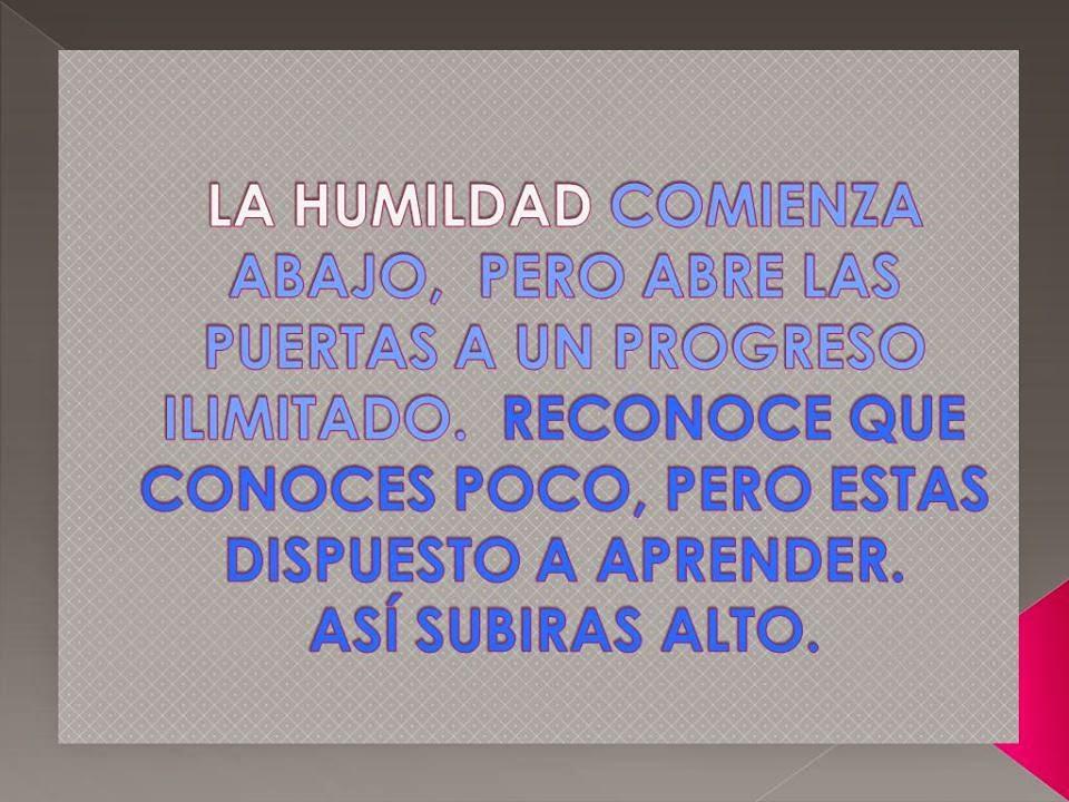 Frases de humildad