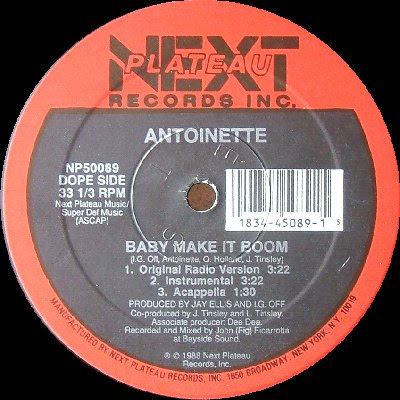 Antoinette ‎– Baby Make It Boom (VLS) (1988) (256 kbps)