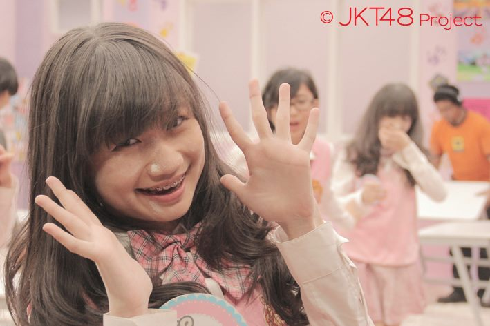 Foto-foto sonia JKT48 at JKT48 School episode 8