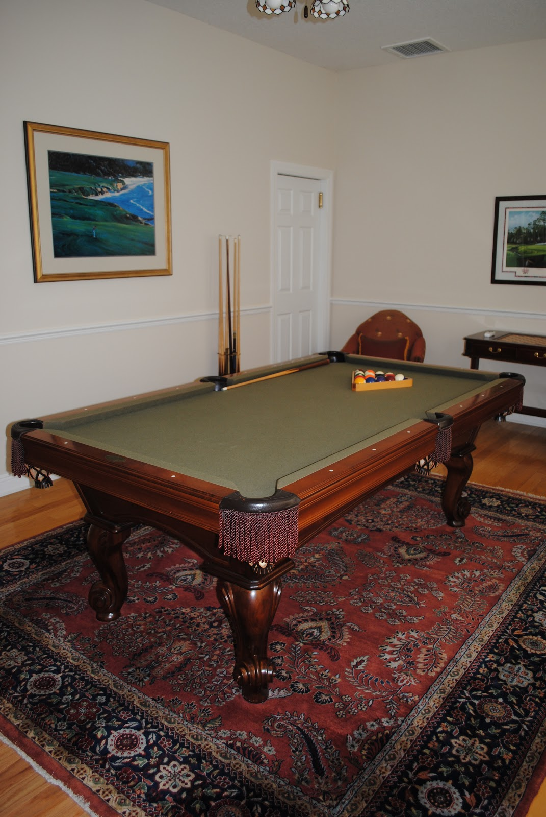 Man Cave Dining Room : My ugly duckling from man cave to dining room