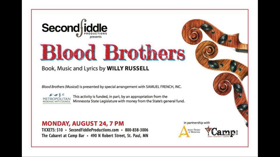 Cherry And Spoon Blood Brothers A Reading By Second Fiddle