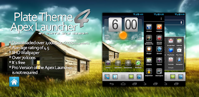 Plate Theme 4 Apex Launcher Banner