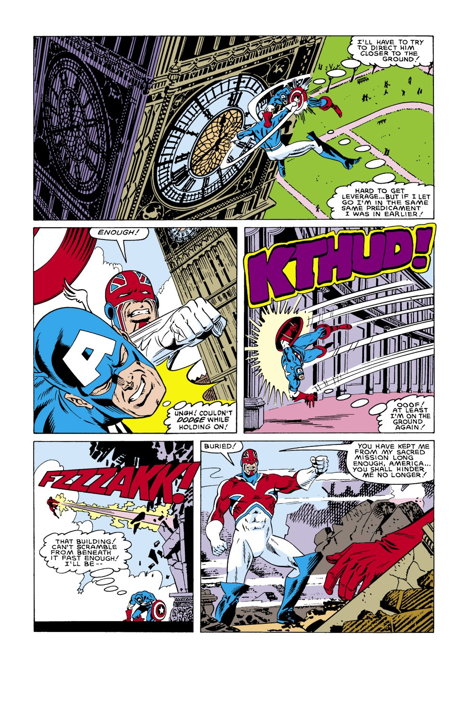 Captain America (1968) Issue #305 #233 - English 19