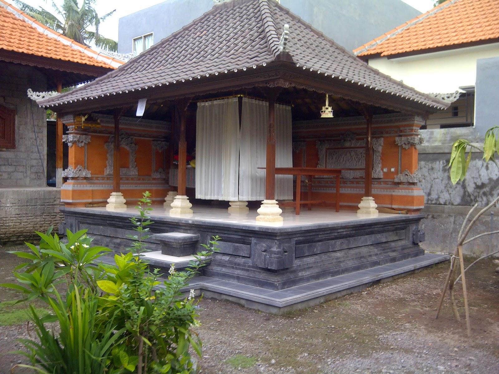 arsitektur tradisional bali bale delod