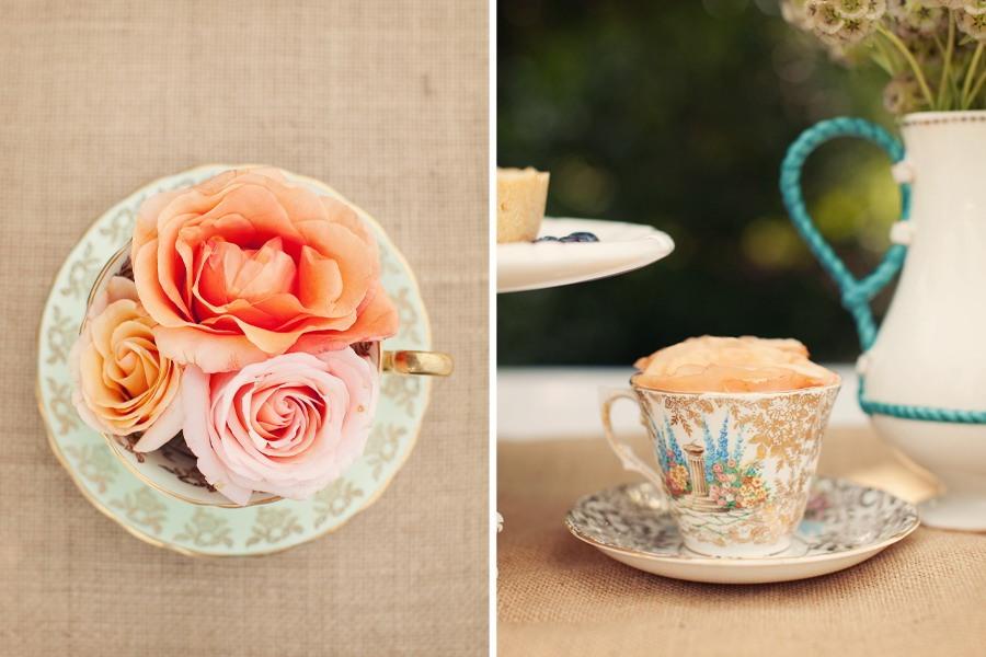 сервировка стола: чаепитие во французском стиле