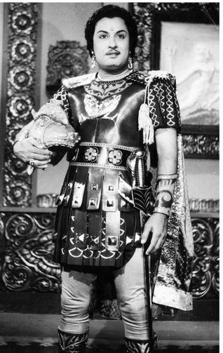 MGR in 'Mahadevi' Movie