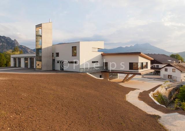 Gemeindezentrum Steinbach - Arch. SPS - Foto Andrew Phelps