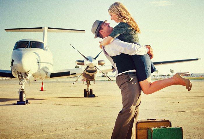 relatie la distanta cuplu aeroport