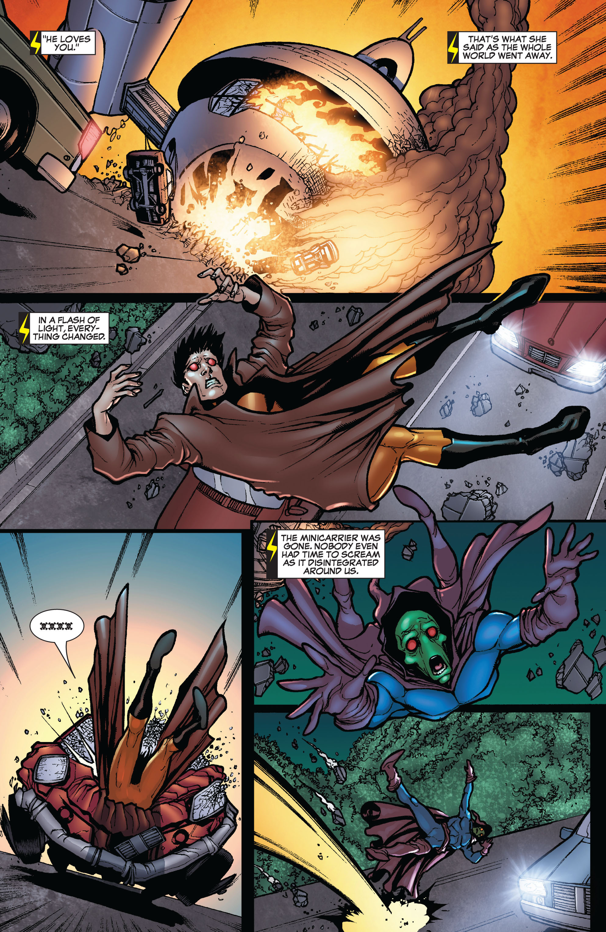 Read online Secret Invasion: The Infiltration comic -  Issue #10 - 14