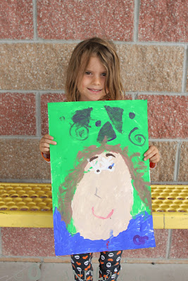 kindergarten portrait project