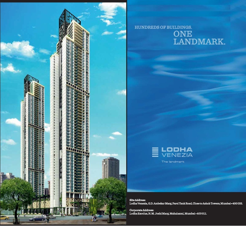 2 BHK APT FOR SALE IN THE LODHA  VENEZIA