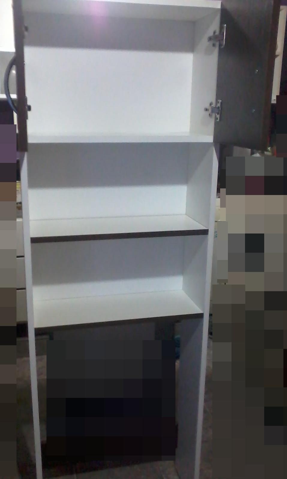 Muebles lukival mueble sobreinodoro con puertas y - Muebles con estantes ...