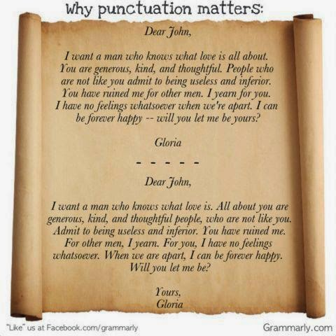 Why use punctuation