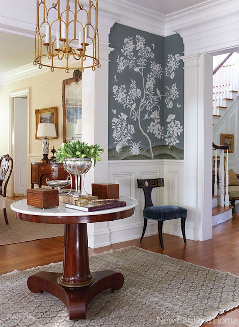 Foyer And Entryways Uk : Chinoiserie chic sunday inspiration elegant