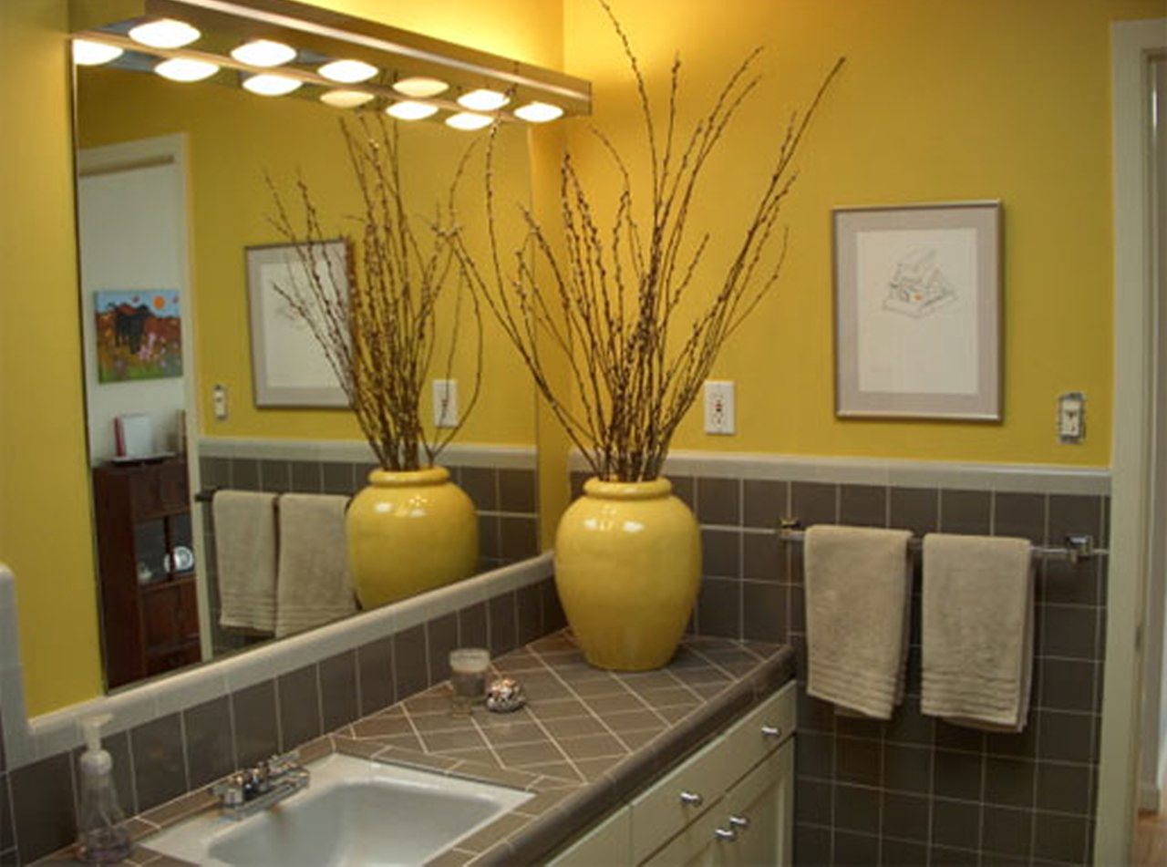 Sunflower bathroom accessories - Bath Room