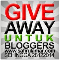 Giveaway untuk Bloggers