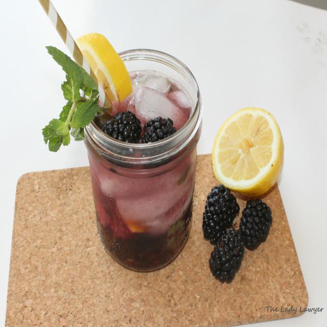 blackberry mint julep recipe