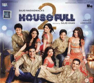 Housefull 2 (2012 - movie_langauge) - Akshay Kumar, Asin, John Abraham, Jacqueline Fernandez, Shreyas Talpade, Shazahn Padamsee, Ritesh Deshmukh, Zarine Khan, Rishi Kapoor, Randhir Kapoor, Boman Irani, Mithun Chakraborty, Malaika Arora, Johnny Lever, Chunky Pandey
