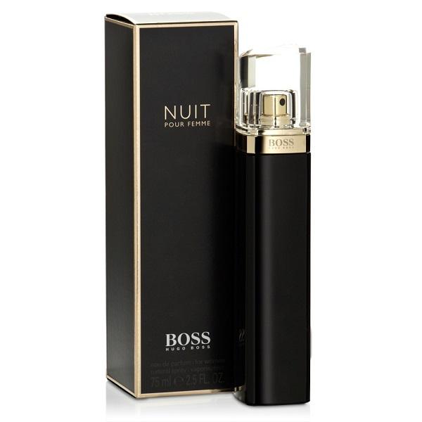 new boss nuit pour femme by hugo boss 75ml edp spray. Black Bedroom Furniture Sets. Home Design Ideas