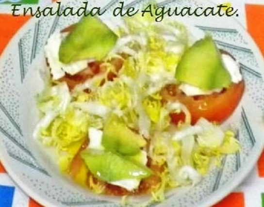 ensalada de aguacate: