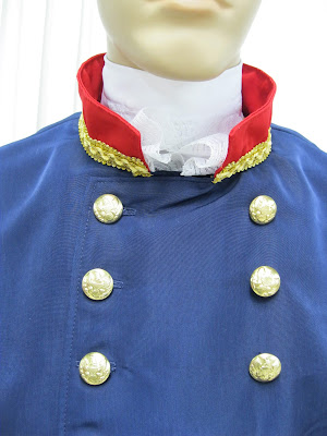 1812 jacket and collar