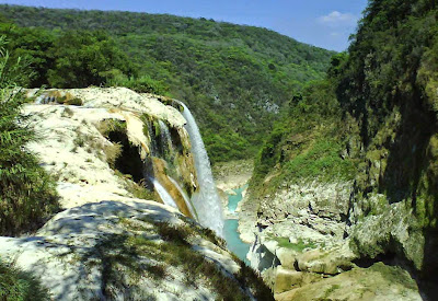 Cascata de Tamil - San Luis Potosi - México