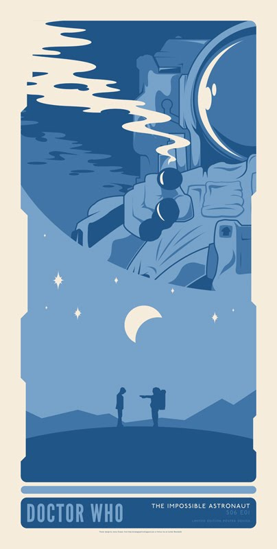 impossible astronaut poster fan made - photo #20