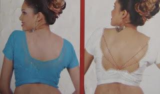 simple designs blouse neck