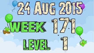 Angry Birds Friends Tournament level 1 Week 171
