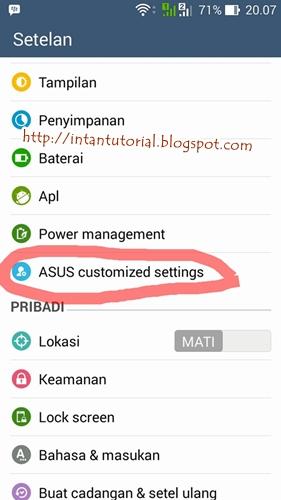 Cara Mudah ScreenShot Asus Zenfone