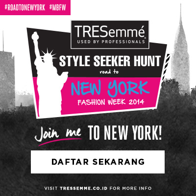Join TRESemme Style Seeker Hunt #RoadToNewYork #MBFW