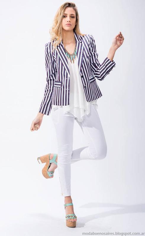 Moda primavera verano 2014 blazers.