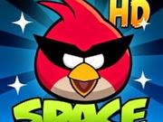 الصورة المدرجة لعبة الطيور الغاضبة في الفضاء angry birds space