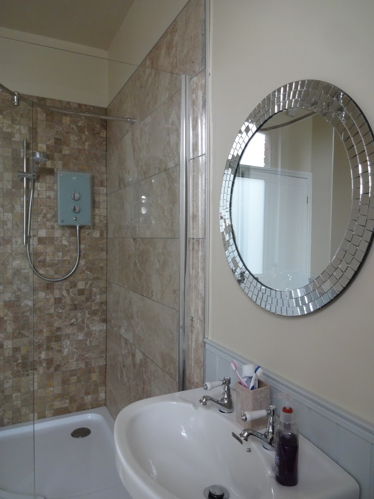 Bathroom Mosaic Mirror