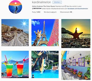 Hatice Korkmaz, ciekawe proflie podróżnicze, Instagram