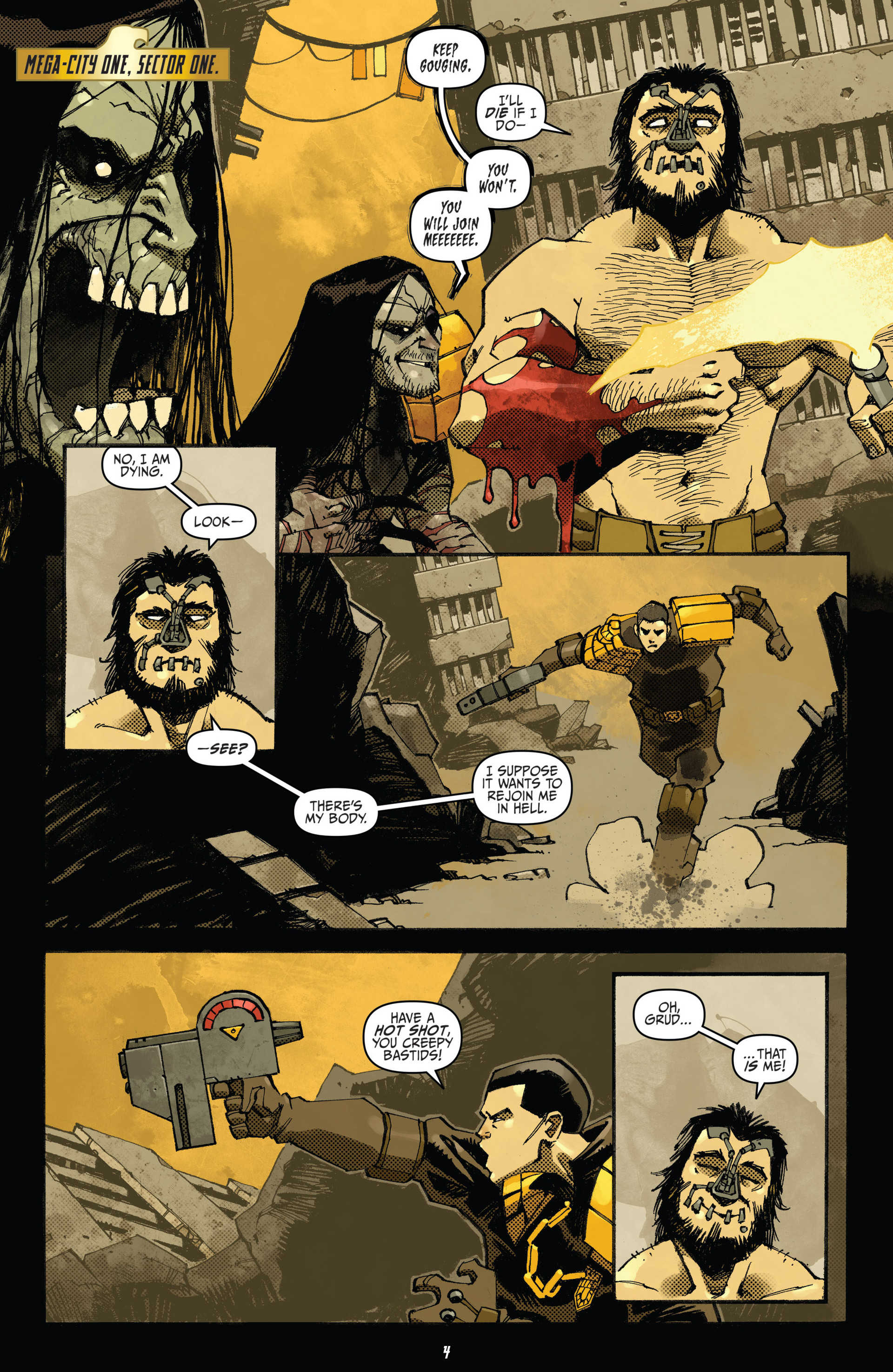 Read online Judge Dredd (2012) comic -  Issue #20 - 6