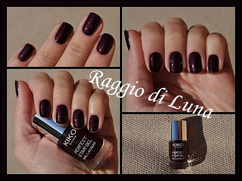 Raggio di Luna Nails: Kiko Perfect Star Gel Duo n° 03 Artistic Plum
