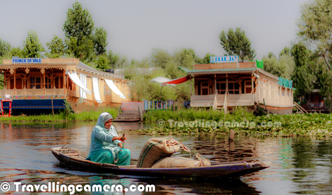 Most popular lakes of india which is located in srinagar the summer