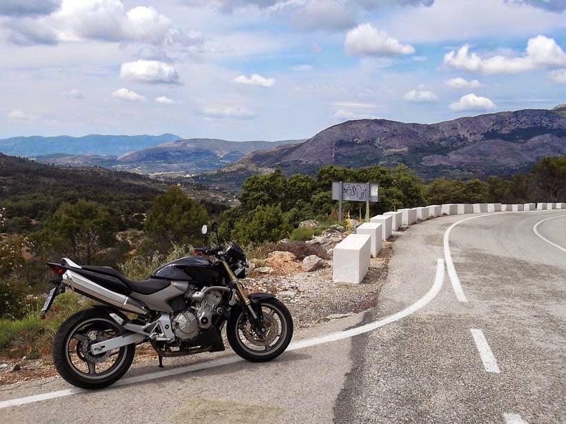 Port de Tudons - ruta en moto