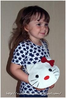 детская сумка, Hello Kitty