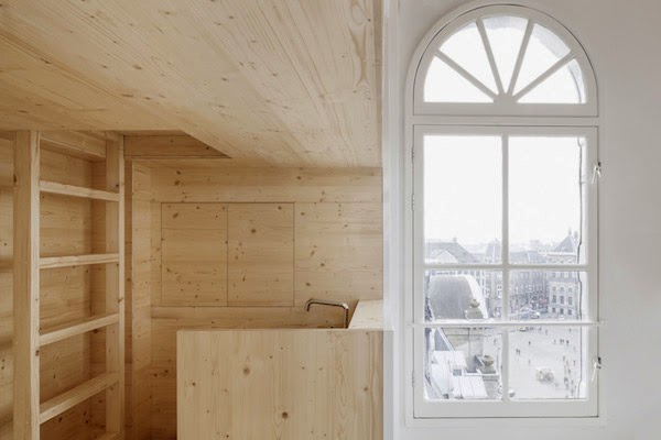 weekly wrap-up, scandinavian design news, room on the roof, a merry mishap workspace, via http://www.scandinavianlovesong.com/