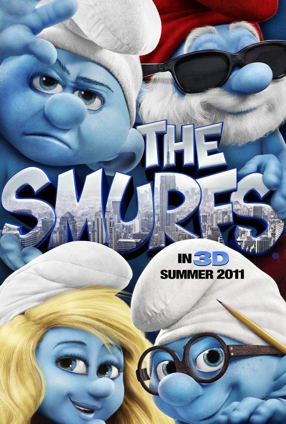 The Smurfs 1 (2011) tainies online oipeirates