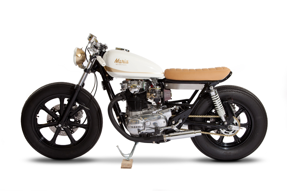 yamaha xs650 by maria motorcycles return of the cafe racers