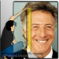 Dustin Hoffman Height - How Tall