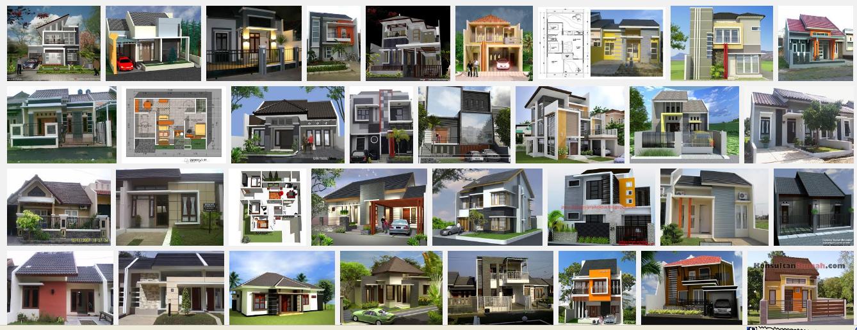 contoh desain rumah minimalis modern jual tanah dan