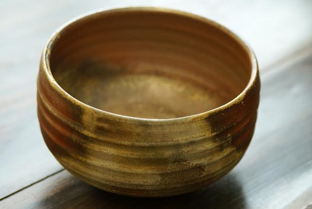 bol à thé japonais bizen