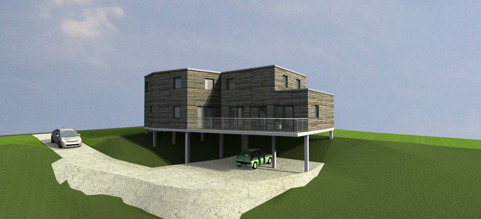 architecte p rigueux julien flahaut maison st pierre de chignac. Black Bedroom Furniture Sets. Home Design Ideas