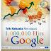 Teknik Rahasia Menembus 1000000 hits di Google