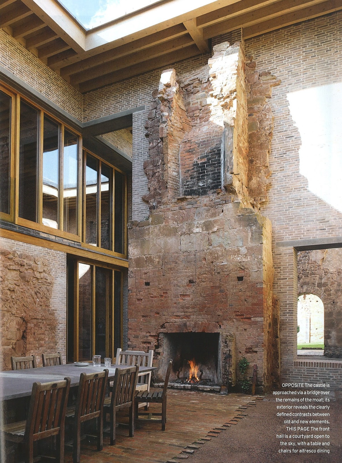 Architect design modern gothic astley castle for Castle architecture design